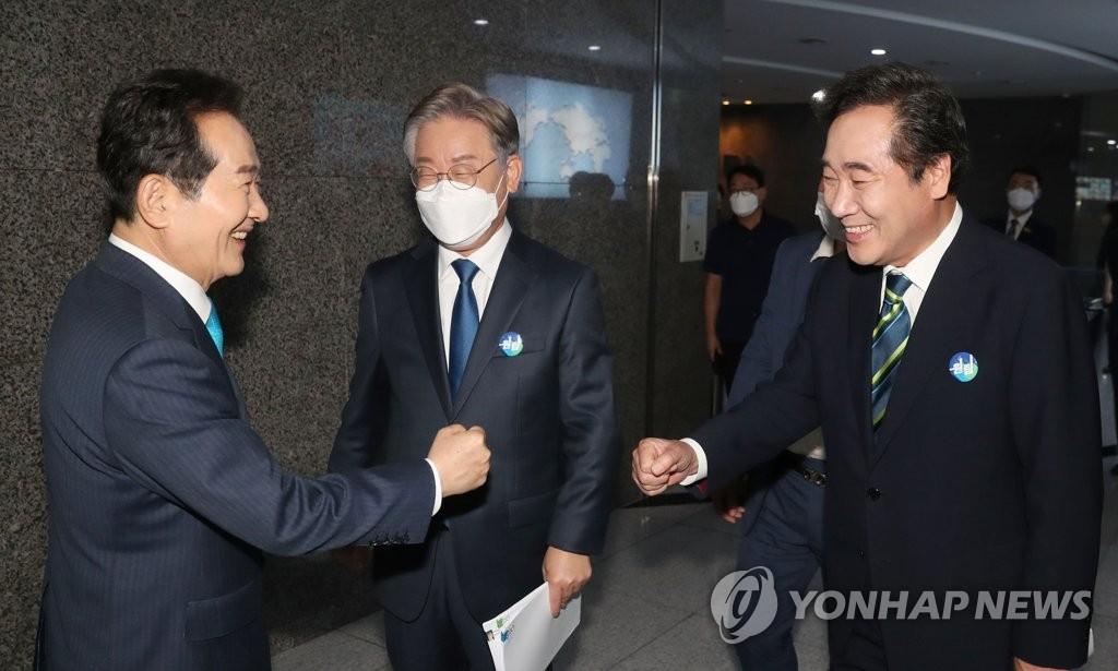 경기도 '100% 재난지원금' 파장…與추격자들 강력반발(종합)
