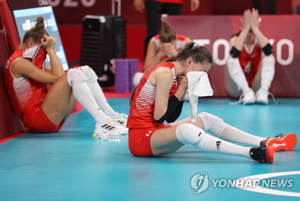 [올림픽] 한국 배구 4강의 힘 '5세트 집중력'…8강 포함 3전 전승