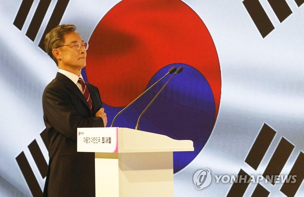 """崔 대선출마…""""무너져가는 대한민국 지켜만 볼 수 없다""""(종합2보)"""