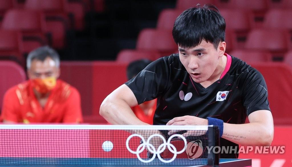 [올림픽] 또 만리장성 못 넘었지만…남자탁구 '동메달 도전' 이어진다