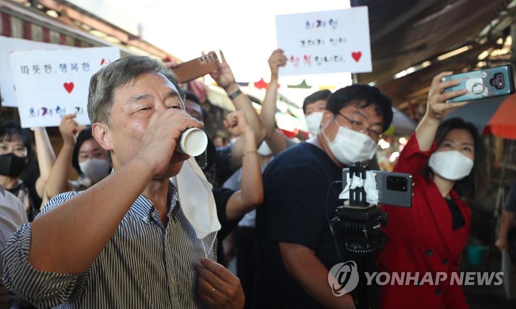 野경선버스 출발부터 덜컹…尹·崔·洪 대선후보 회의도 불참