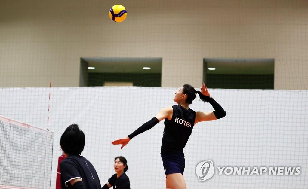 """[고침] 스포츠([올림픽] '목소리 갈라진' 김연경 """"내일 목…)"""
