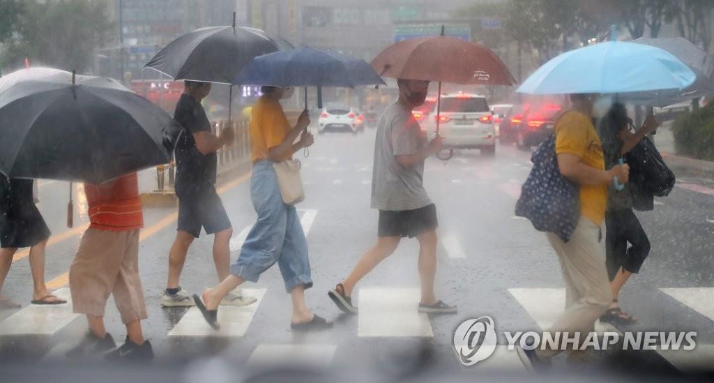 [내일날씨] 전국 흐리고 곳곳 비…남부지방 호우