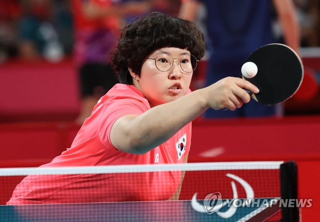 -패럴림픽- 탁구 서수연, 2회 연속 은메달…한국 은 1·동 7 획득