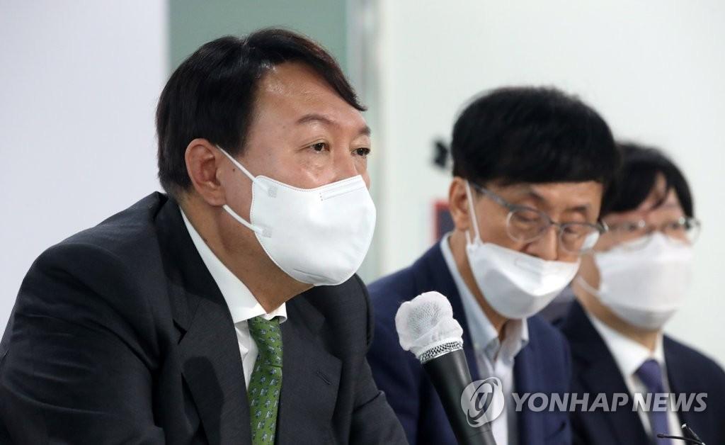 """尹 """"충청은 나의 뿌리""""…중원서 대망론 불씨 키우기"""