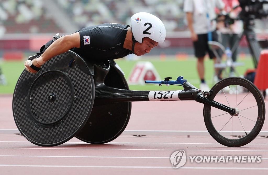 -패럴림픽- 휠체어육상 유병훈, 남자 400m 결승 진출