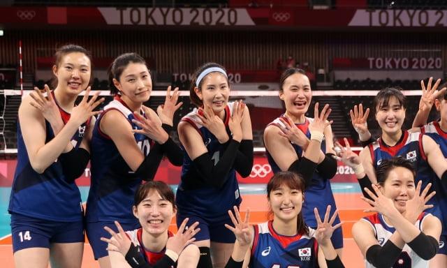 2020 도쿄올림픽 여자배구 대한민국 대표팀. / 사진=연합뉴스