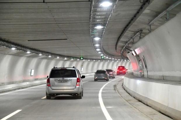 서부간선지하도로 내부의 모습. /뉴스1