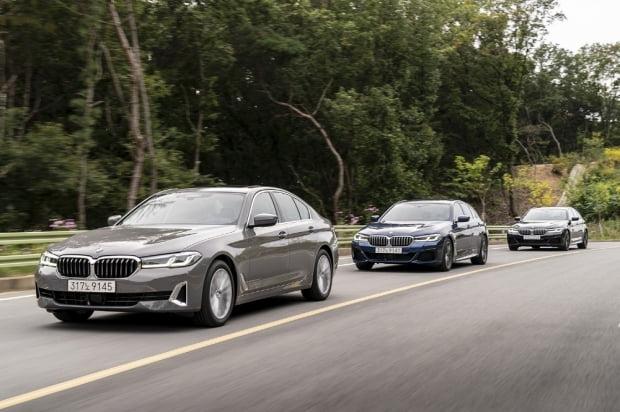 BMW 뉴 5시리즈. 사진=BMW