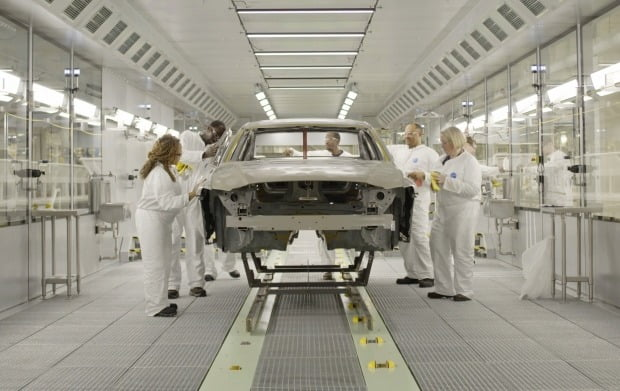 미국 사우스캐롤라이나주의 볼보자동차 공장./사진=한경DB