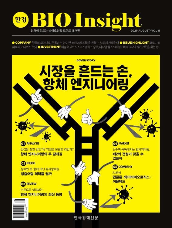 한경바이오인사이트 Vol.11 - 2021년 8월호