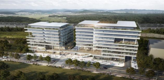 CJ대한통운 건설부문, 브이원텍&소만사 사옥 신축공사 기공