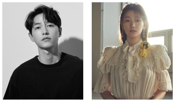 배우 송중기와 박소담, 부산국제영화제 개막식 사회