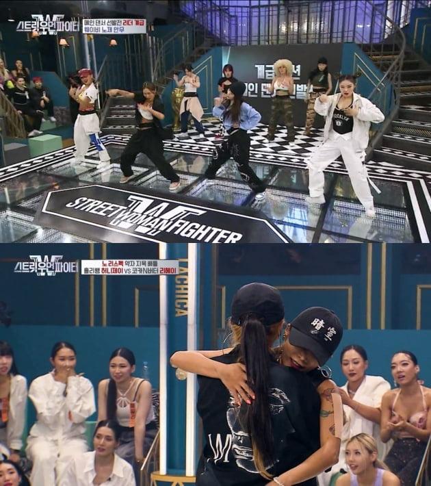 댄스 크루들의 대결을 그린 '스트릿 우먼 파이터' /사진=Mnet 방송화면 캡처