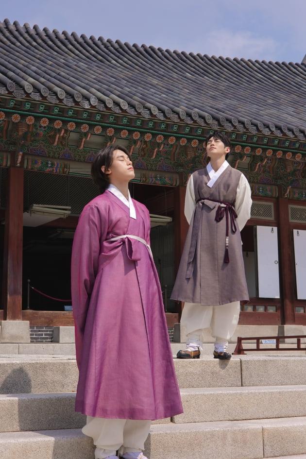 차우민(좌), 유환/사진=저스트엔터테인먼트