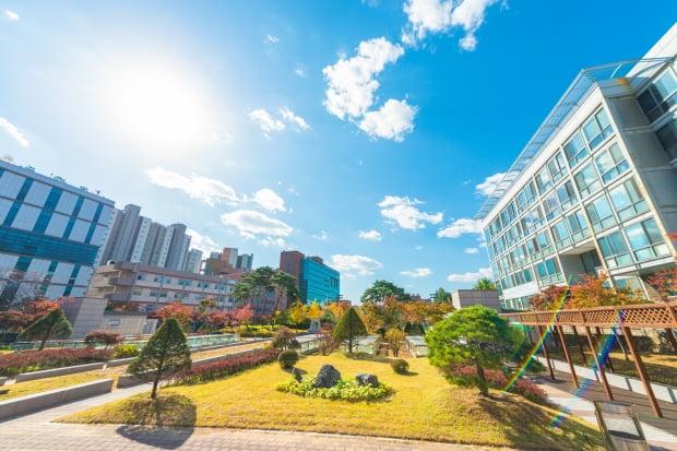 서강대 캠퍼스 전경.