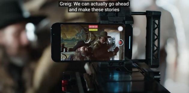 아이폰13 프로 홍보 영상. /사진=애플 공식 유튜브 영상 캡처