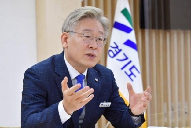 """이재명 """"與 '수박 기득권자'들이 대장동 공영개발 포기 압력"""""""
