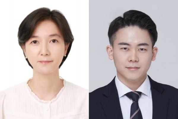 이수정 GIST 교수(왼쪽), 오상현 UC머세드 박사과정생. 사진 GIST