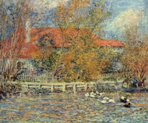 오리 연못, 1873, 밸리하우스갤러리