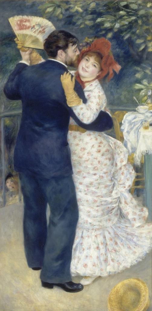 시골에서의 춤, 1883, 오르세미술관