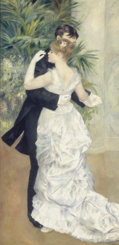 도시에서의 춤, 1883, 오르세미술관