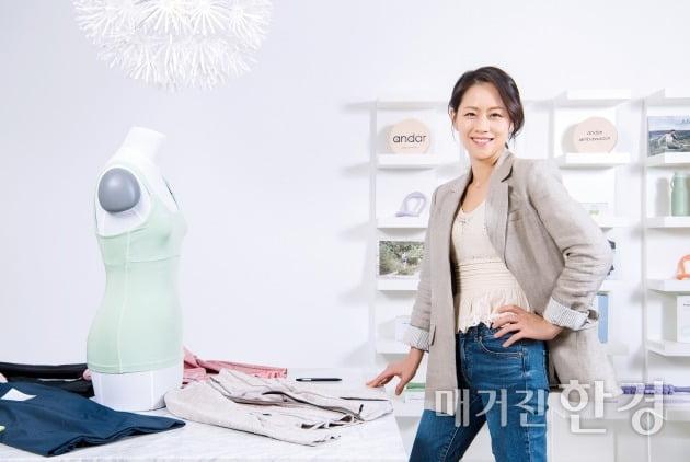 "[special]박효영 안다르 대표 ""운동이 곧 삶…'애슬레저' 시장 급성장"""