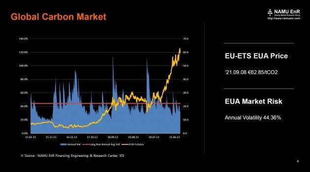 글로벌 탄소 시장. (자료 = 나무EnR)