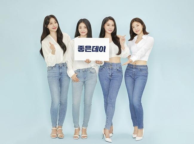 브레이브걸스, 국민 걸그룹 입증…주류 광고 모델 발탁