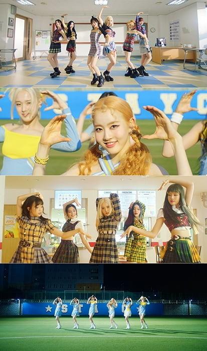 스테이씨, '쇼챔피언' 1위 장식 '2관왕' 등극→'색안경' 퍼포먼스 M/V 공개