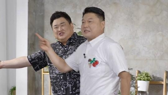 """강호동, 김준현과 데프콘 앞에서 고개 푹...""""형도 잘못하면 혼쭐나야""""('위대한 집쿡 연구소')"""