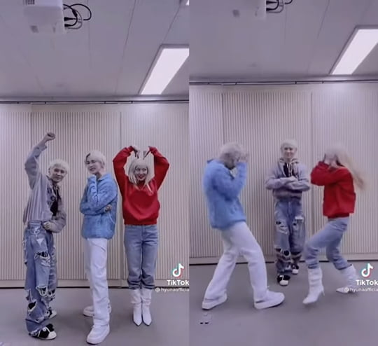 샤이니 키, 현아&던 'PING PONG' 챌린지 참여…3인 버전 티키타카 댄스