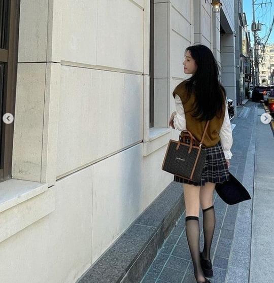 이유비, 믿기 힘든 청순 비주얼…가을 여신 등극 [TEN★]