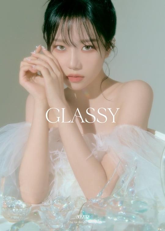 조유리, 'GLASSY'로 선보일 몽환美→동화 속 비주얼…10월 7일 솔로 컴백