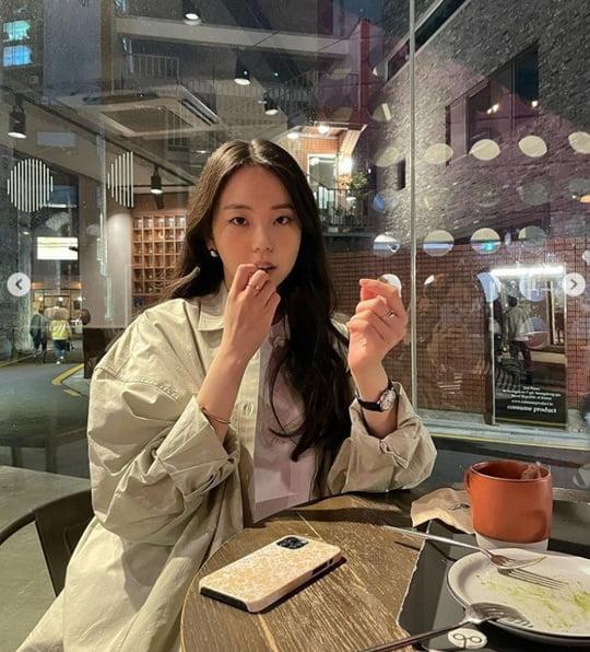 """안소희, 연예인도 월요병?…""""이제 월요일"""" [TEN★]"""