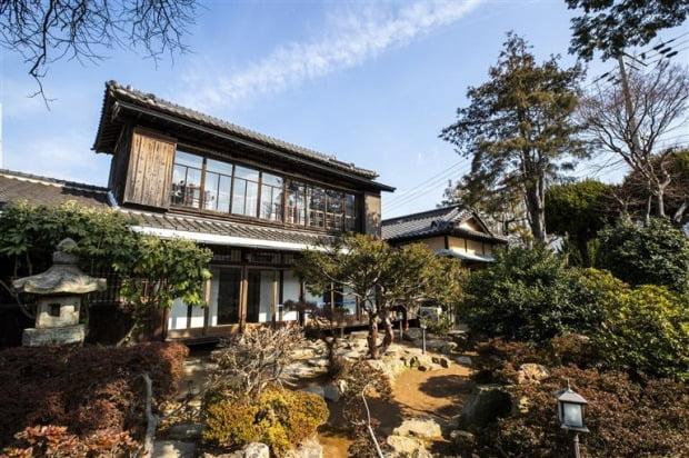 일제강점기 일본인 유지가 거주한 목조주택 '히로쓰 가옥'