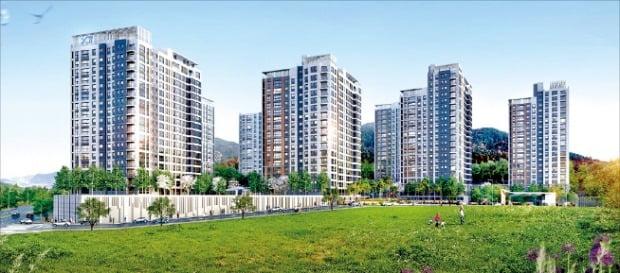 '비규제 지역' 강원 동해시 첫 자이 아파트 이달 분양