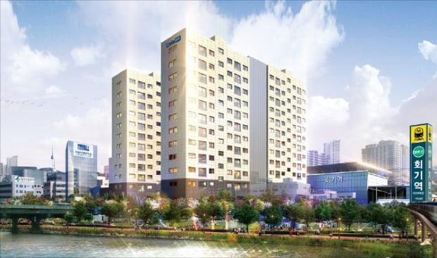 회기역 리브인, 동대문 캠퍼스타운 소형 주택시설