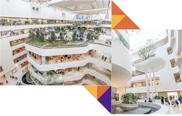 디자인사무소 9곳이 달라붙었다…더현대서울은 '디자인 백화점'