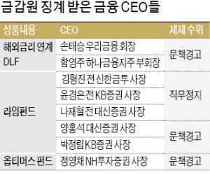 금감원, '우리금융 회장 징계 취소'에 불복