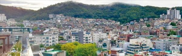 재개발 관리처분인가를 앞둔 총 4116가구 규모의 서울 은평구 갈현1구역 일대.  /한경DB