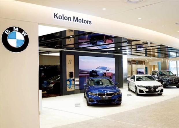 BMW 대전신세계 '아트 앤 사이언스'  전시장
