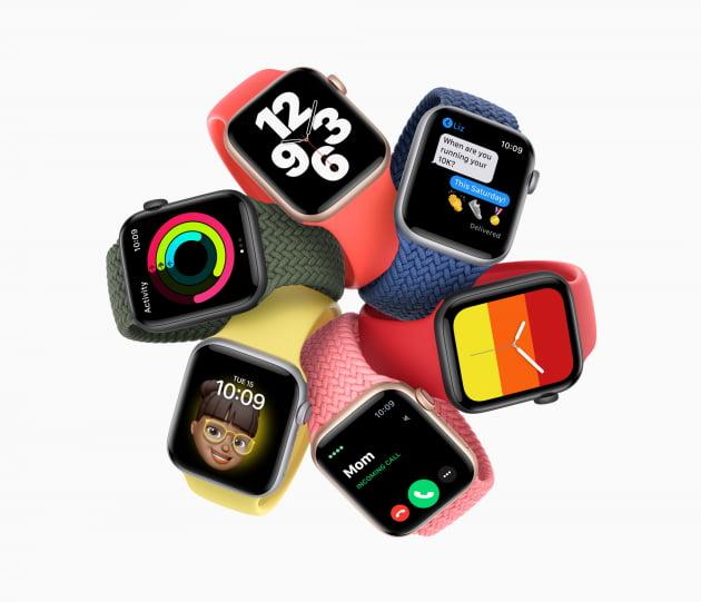 지난해 9월 공개된 애플워치 6세대. 출처: 애플