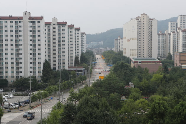 경기 동두천 아파트 단지 전경. 출처: 한국경제신문