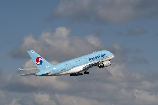 대한항공의 A380 여객기.(/대한항공)