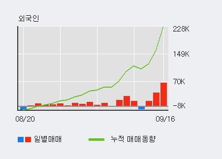 '한라홀딩스' 52주 신고가 경신, 외국인 3일 연속 순매수(12.0만주)