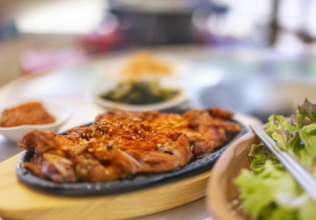 [酒먹방] 닭갈비가 더 맛있는 태백 막국수