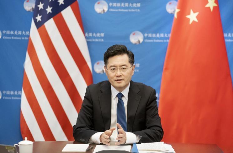 """주미 中대사 """"중국은 구소련 아냐…레드라인 도전하지 말라"""""""