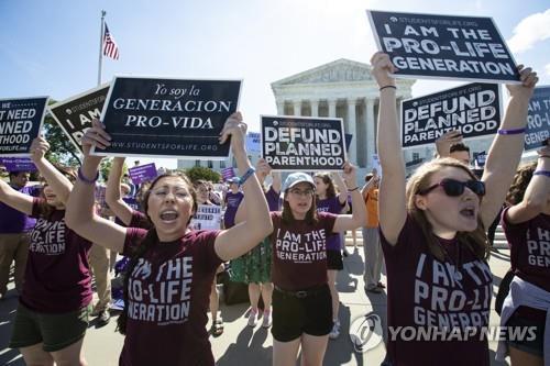 텍사스발 낙태금지 파장…美 48년된 낙태권 인정 판례 뒤집히나