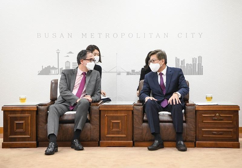 """부산시·르노삼성 """"미래차 전략산업 생태계 구축 노력"""""""